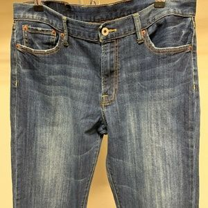 Lucky Brand Jeans Size 34 Reg Inseam Straight Leg